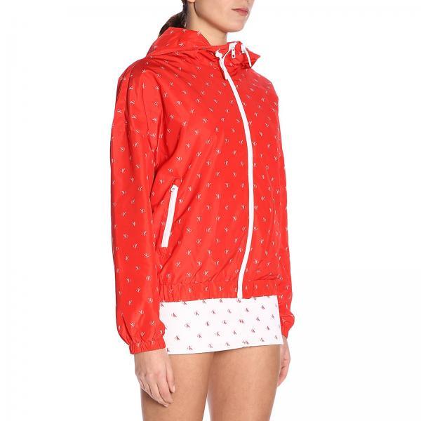 verano Primavera Klein 2019 Chaqueta Calvin Rojo Jeans Mujer J20j209610giglio HE0qwY