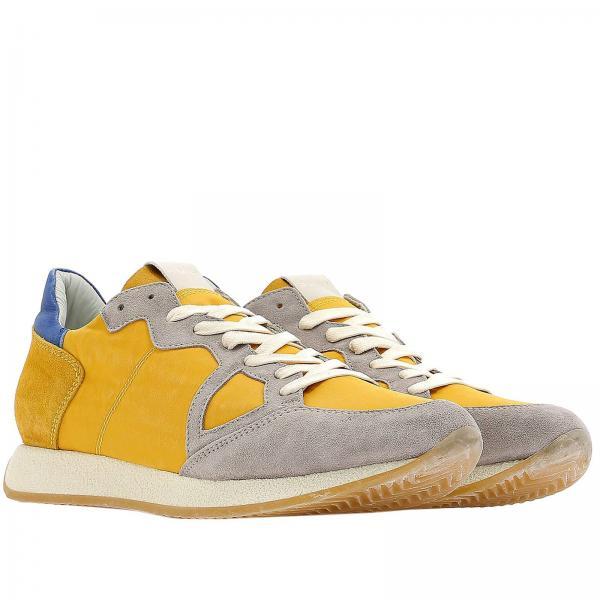 Suola Uomo In Gomma Nylon Sy03 Model Pelle A E TortoraStringata Con Sneakers Grana Mvlu Philippe Camoscio xrodCeWB