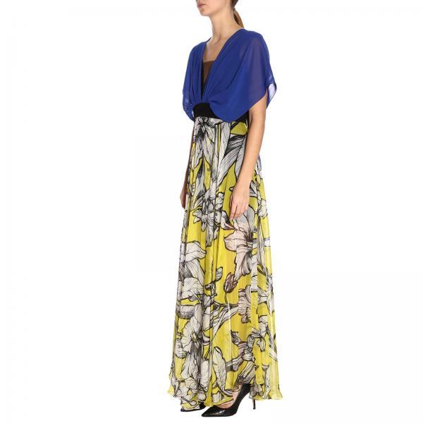 verano Primavera Mujer V2315 Blue 2019 Vestido 2422giglio Hanita CxYwTqw6