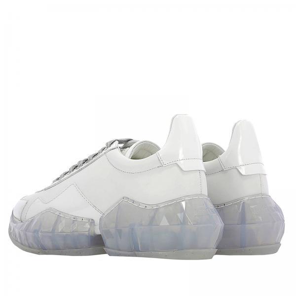 Mujer F Choo Catgiglio Zapatillas Primavera verano 2019 Diamond Blanco Jimmy pqnAdS