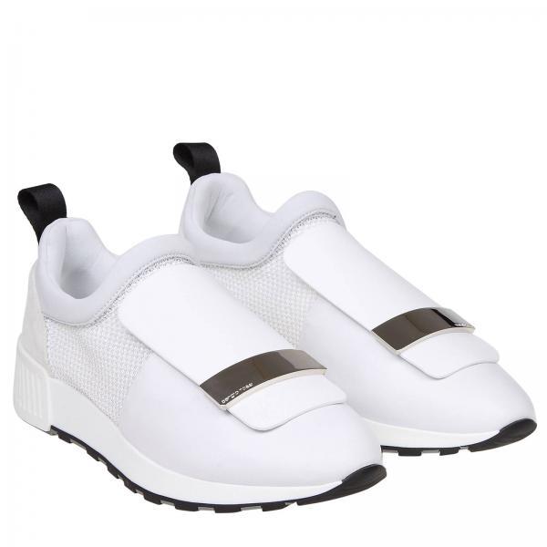 Rossi Mfn296giglio Mujer Zapatillas Sergio A80840 Primavera 2019 Blanco verano 7pBTPxqw