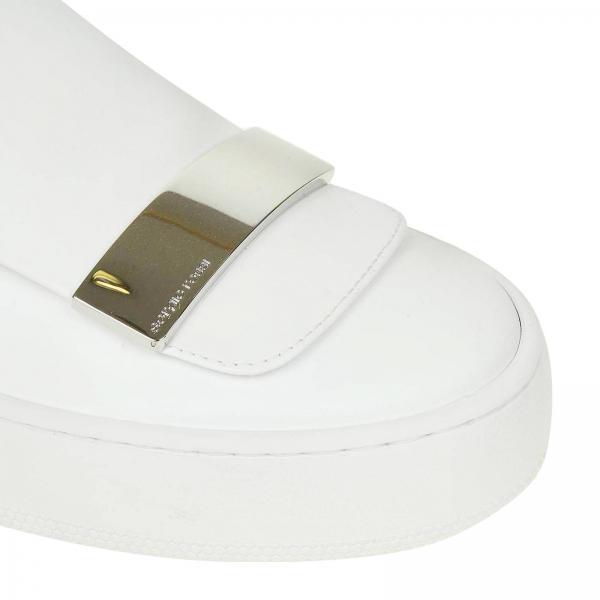 Tessuto Rossi Mmv117 On Sneakers Sergio Pelle E Stretch A79290 In Donna Liscia BiancoSr1 Slip luT5FcK1J3