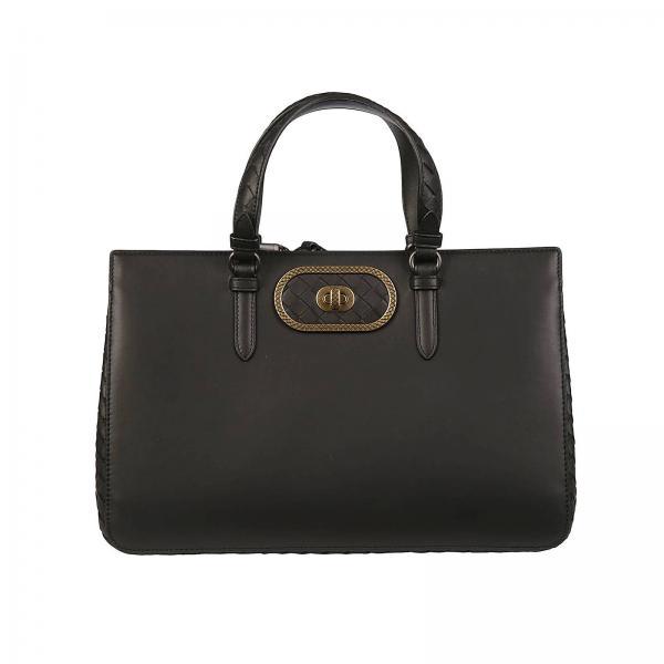 c9afa7bfc881 Handbag Women Bottega Veneta Black