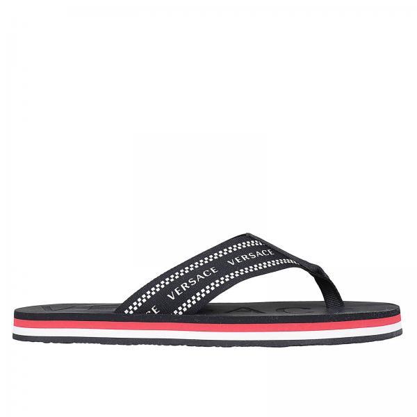 80504e81d247c9 Versace Men s Red Sandals