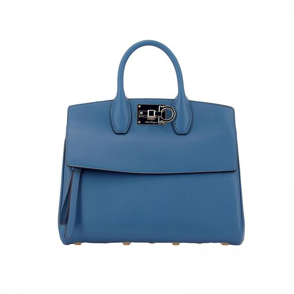 7e26ea819988 Salvatore Ferragamo Women s Blue Shoulder Bag