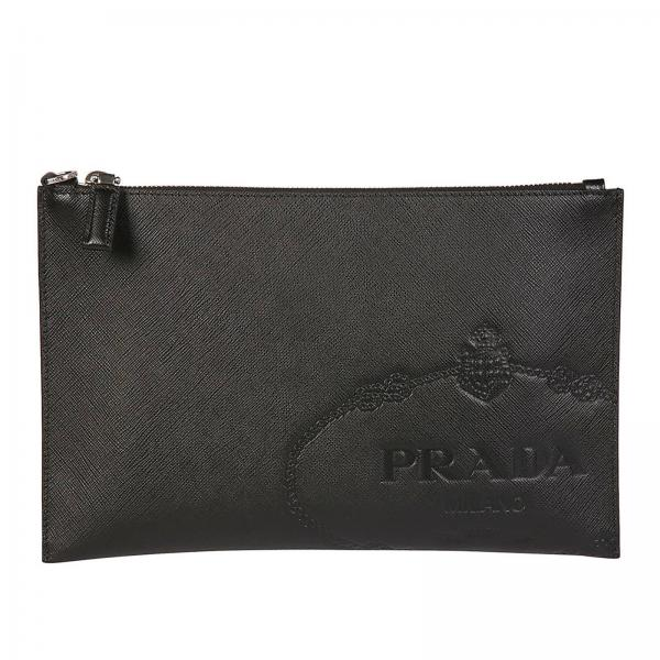cf0f64dc7921 Prada Men's Black Cosmetic Case | Cosmetic Case Men Prada | Prada Cosmetic  Case 2nh005 2mb8 - Giglio EN