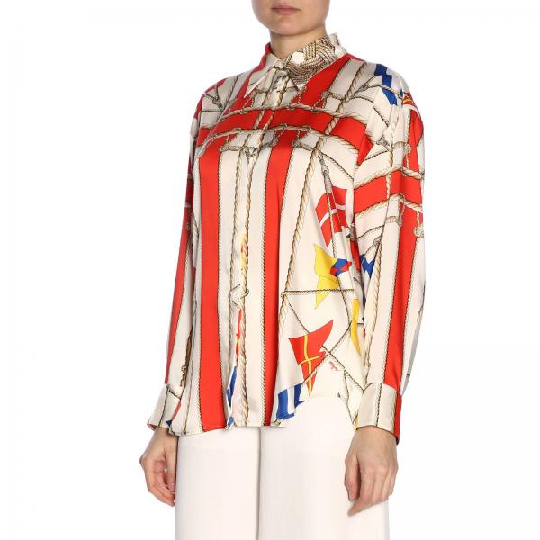 Msgm FantasiaA 2641mde23a195151 Over All Donna Camicia YWIE29DH