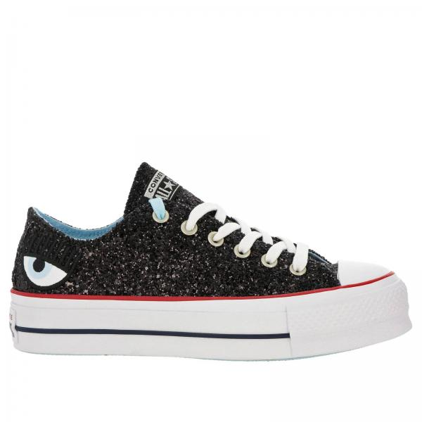 Shoes Women Converse X Chiara Ferragni Black