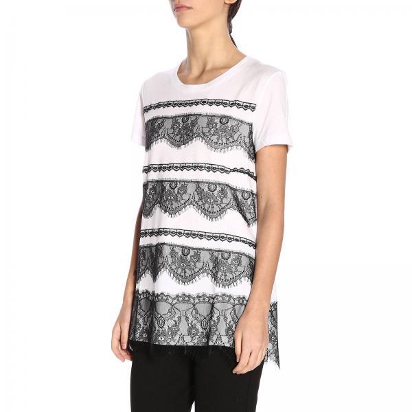 Set Twin Primavera 2019 191mp2067giglio My verano Mujer Camiseta Blanco IxEwZ6WT