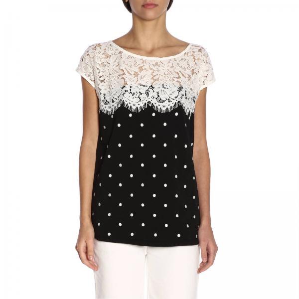 2019 Negro Set Mujer 191mp2064giglio My Camiseta Primavera verano Twin 8pvAzwq