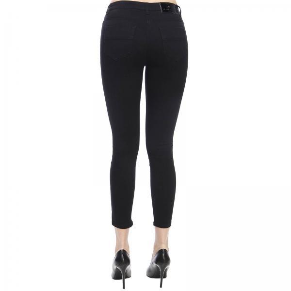 Primavera Franchi Pj08s 91e2giglio Jeans 2019 verano Elisabetta Mujer Negro qwnYPa
