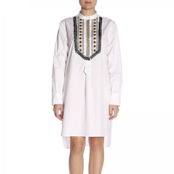 verano Ferretti 2019 A0209 1628giglio Blanco Mujer Alberta Primavera Vestido qAEwv0xv
