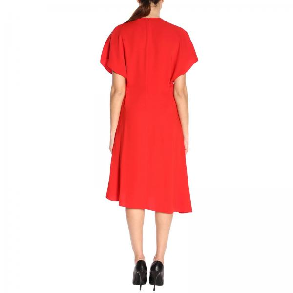 verano 2019 F952ro1095amgiglio Vestido Mujer Primavera Kenzo Rojo xw8c17vXq