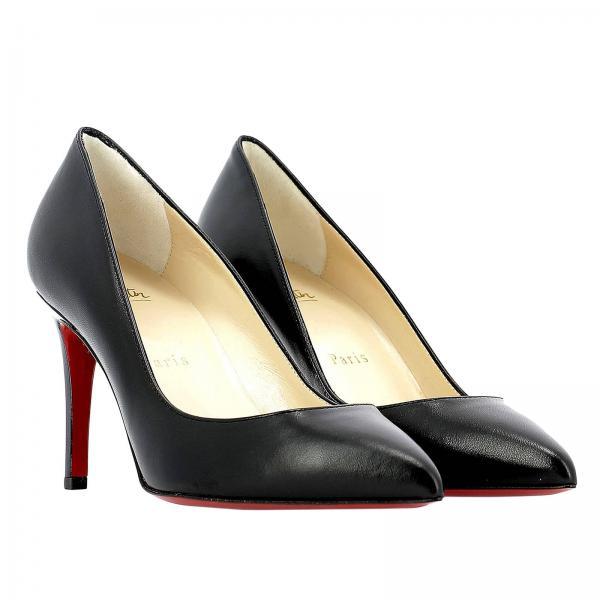 Salón verano Zapatos Mujer 2019 3160522giglio Primavera De Louboutin Christian Negro 588Ox