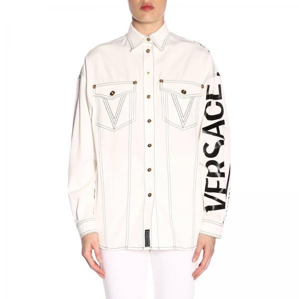 b170ac706495 Shirt Women Versace White