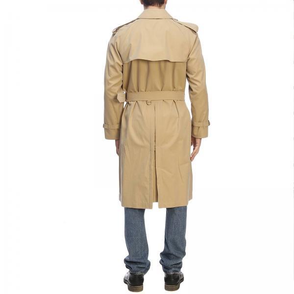 Con Interni Check Burberry Cappotto Uomo Coat 4073478 Westminster Impermeabile In MieleTrench Lungo Gabardine wXPn80Ok