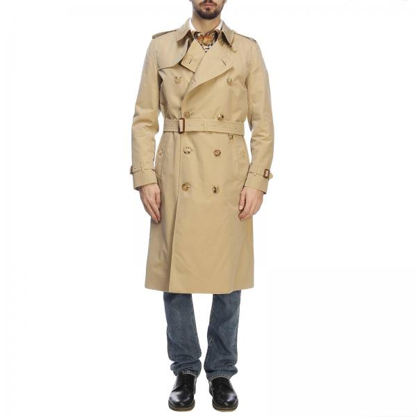 be4b7fa5 Burberry Men's Beige Trench Coat | Trench Coat Men Burberry ...