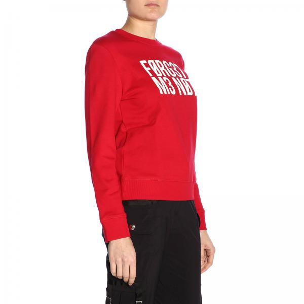 Rr3mf06u 2019 Mujer Sudadera Rojo Valentino Red verano Primavera Itzgiglio OqwTU