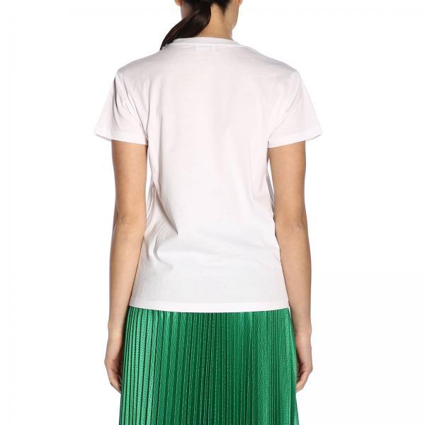 Camiseta Ekngiglio Rr3mg00a Mujer Red Primavera 2019 Valentino verano Blanco rHxrgn