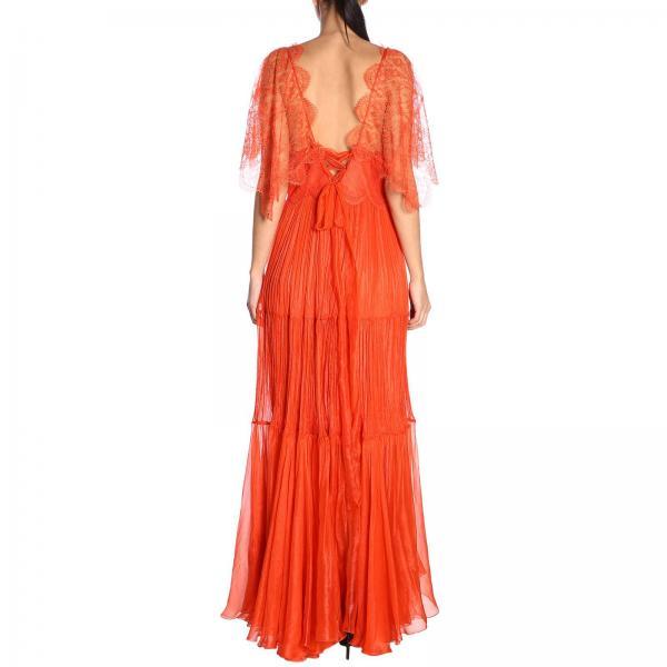 Naranja Maria Primavera verano Vestido 2019 Lucia Mujer Tarikagiglio Hohan YwIqO