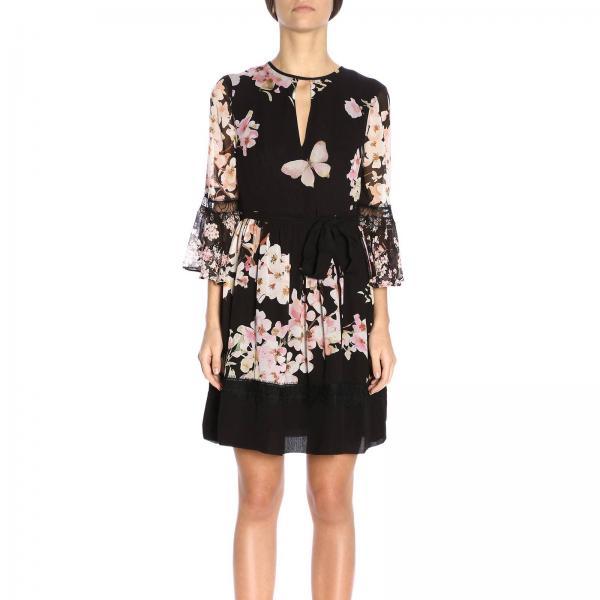 Vestido S10718giglio Twin 2019 Primavera Mujer verano Negro Set Tp2716 r1rXqc