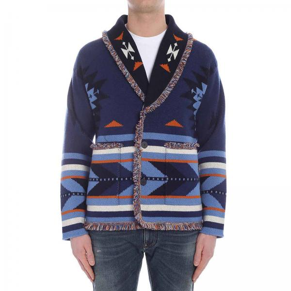 Cardigan Laneus a fantasia all over con maniche lunghe