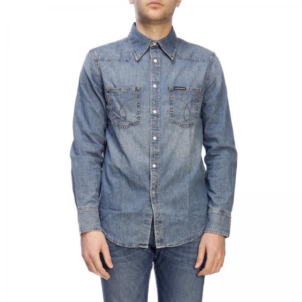 quality design d5f89 5a4a3 Camicia calvin klein jeans in denim used