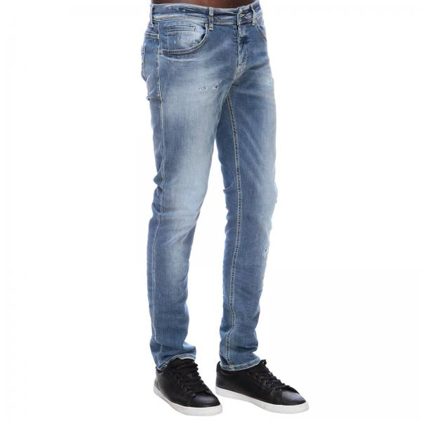 Denim Stretch Jeans Rotture Used Dondup Eh9iwd2 In Con 0nwOkP