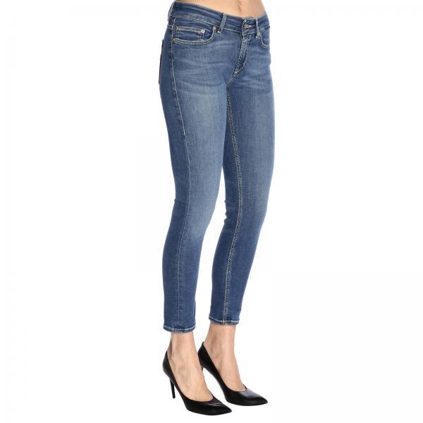 Denim 5 Slim Tasche Stretch In Used Dondup A Jeans N0wnm8