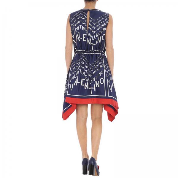 Valentino Vestido Mujer Primavera 4elgiglio Blue 2019 Rb3vaki0 verano 55aOqr