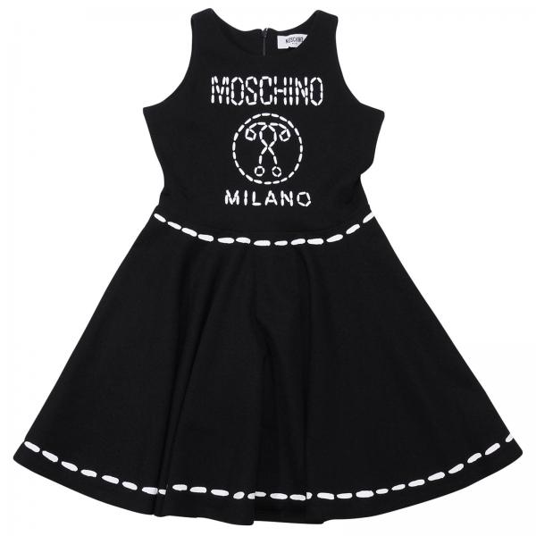 a38e608a1e33 Dress little girl Moschino Kid