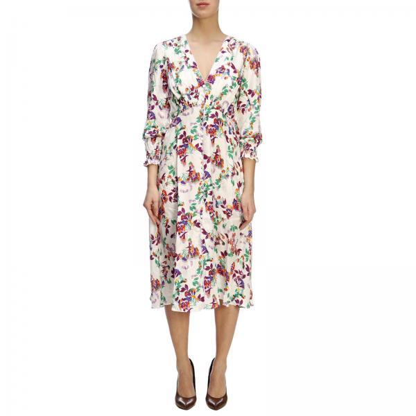 101171215giglio 2019 Vestido verano Primavera Saloni Blanco Mujer pxO0qR