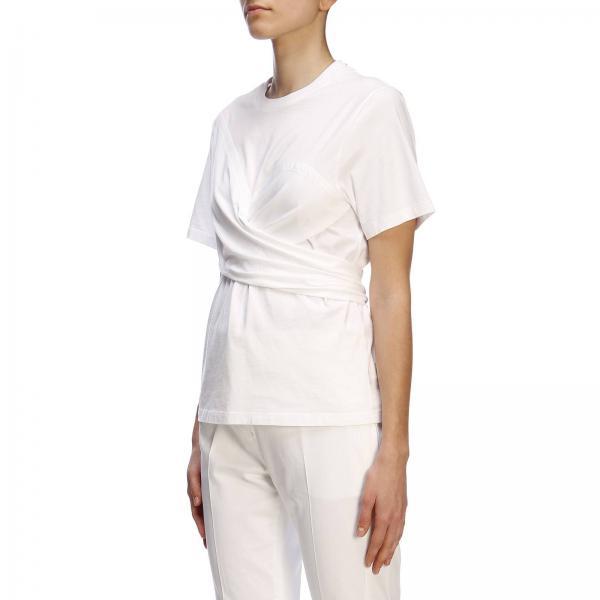Charlier A12013928giglio Primavera Blanco Cédric 2019 Mujer Camiseta verano gnpq6Ew