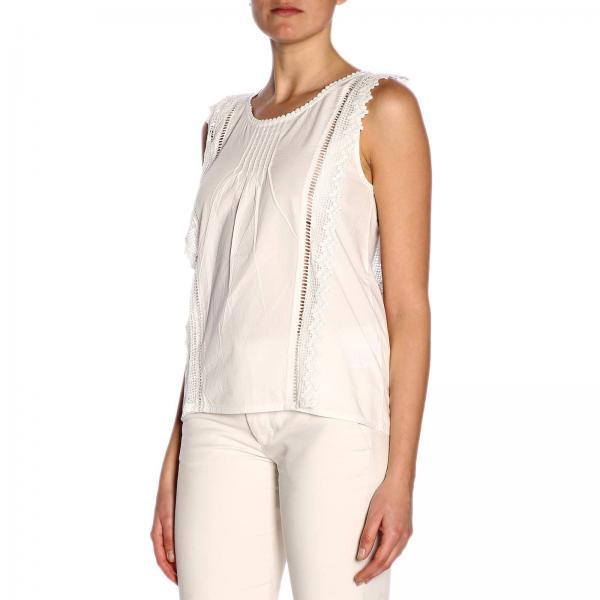 2019 Primavera Y9pw06giglio verano Camisa Mujer Semicouture qwXz7qBx