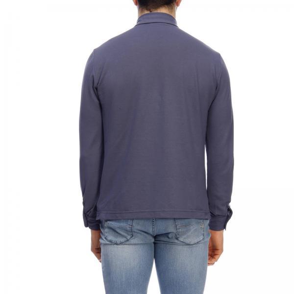 Primavera 2019 Camiseta Z0380giglio 811819 verano Zanone Hombre YrqFqwaI