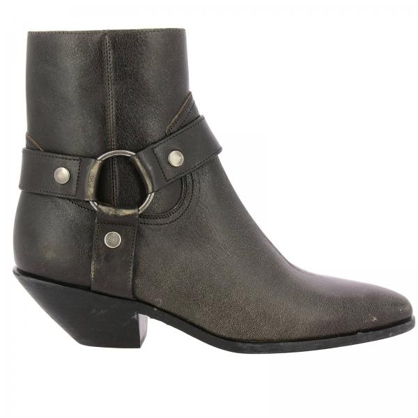 Heeled ankle boots women Saint Laurent