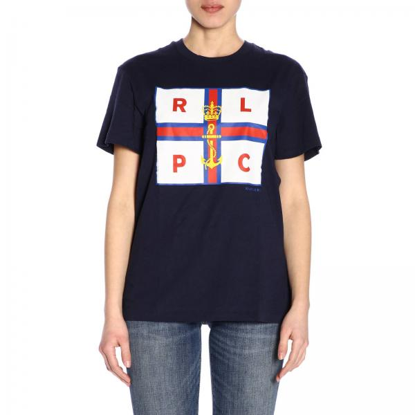 Fa01 Mujer Polo Ralph Primavera 211732294giglio verano 2019 Camiseta Lauren fRTBxwH