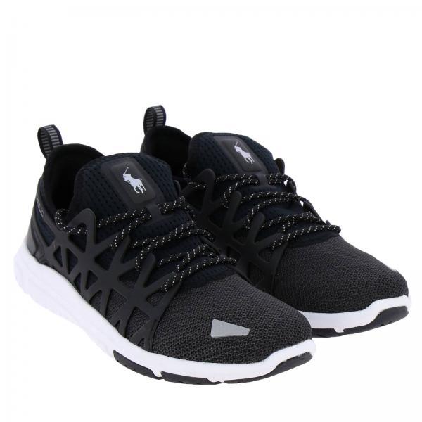 Gomma In Sneakers Ralph Logo Con Polo Lauren 200 Mesh Tecnico E Train Sk BoQdCeWxr