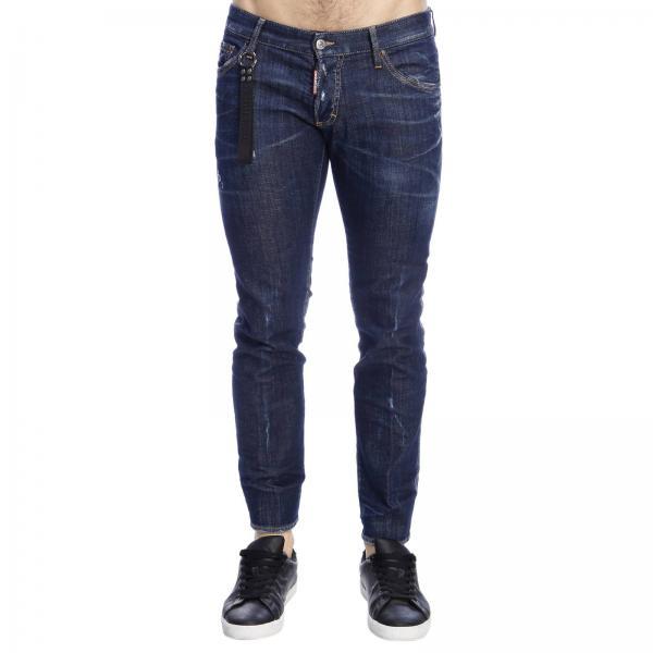 Hombre Blue Pantalón 2019 S74lb0505s30342giglio Dsquared2 verano Primavera RqZccdO4F