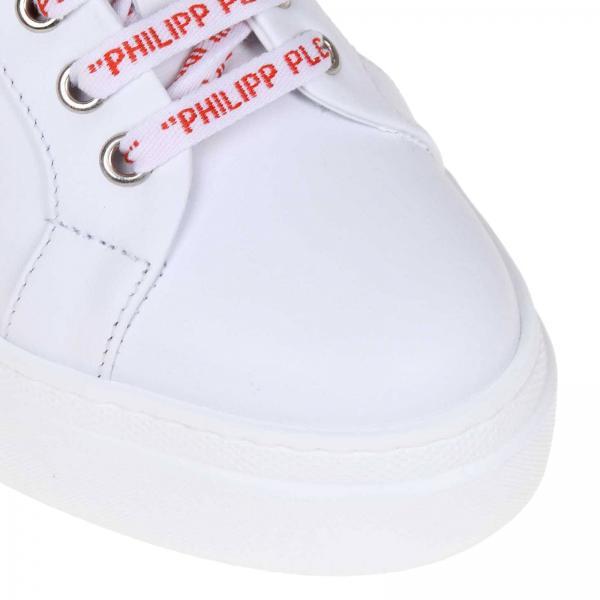 Wsc1201 Philipp Primavera Blanco 2019 Plein Mujer verano Ple25ngiglio Zapatillas 5pzqITwB