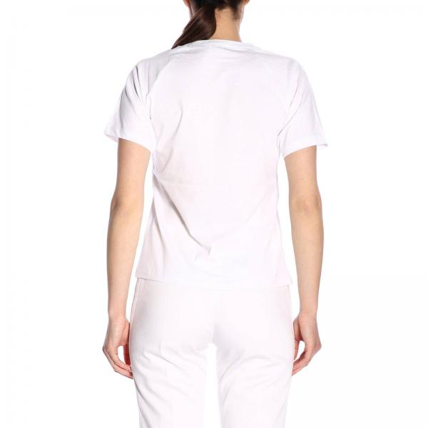 F952ts755987 Corte shirt Tiger T Paris Donna Maniche Con KenzoA Stampa f6gb7Yy
