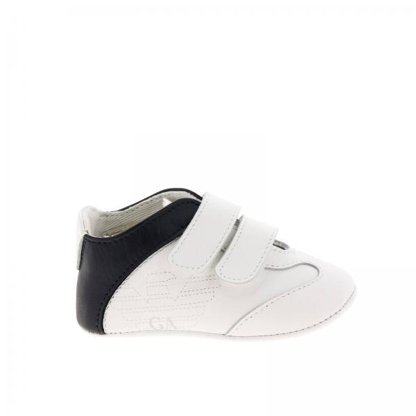 9722183dec Shoes little boy Emporio Armani White