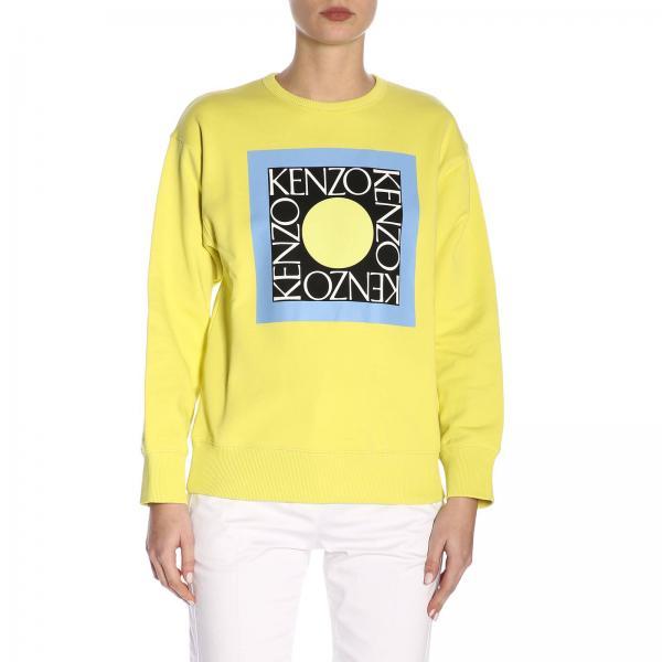 Amarillo Primavera Sudadera verano Mujer Kenzo F952sw778951giglio 2019 qEEZFP