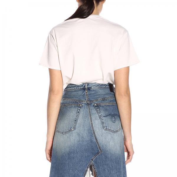 verano Primavera 2019 R13w3836giglio Camiseta Mujer R13 Blanco wIqwOXB