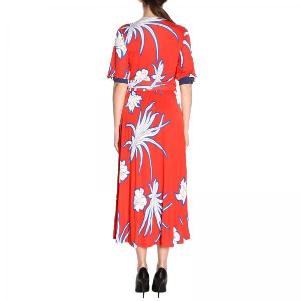 Pinko 2019 7402giglio Vestido verano Rojo 1g143f Mujer Primavera 6qnnTwv5