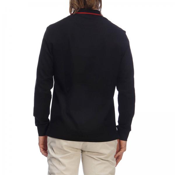 Burberry Primavera 2019 verano Hombre 8008469giglio Negro Camiseta q5OnwBgz4