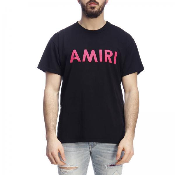 uk availability e7ad9 1d79b T-shirt a maniche corte con maxi stampa amiri