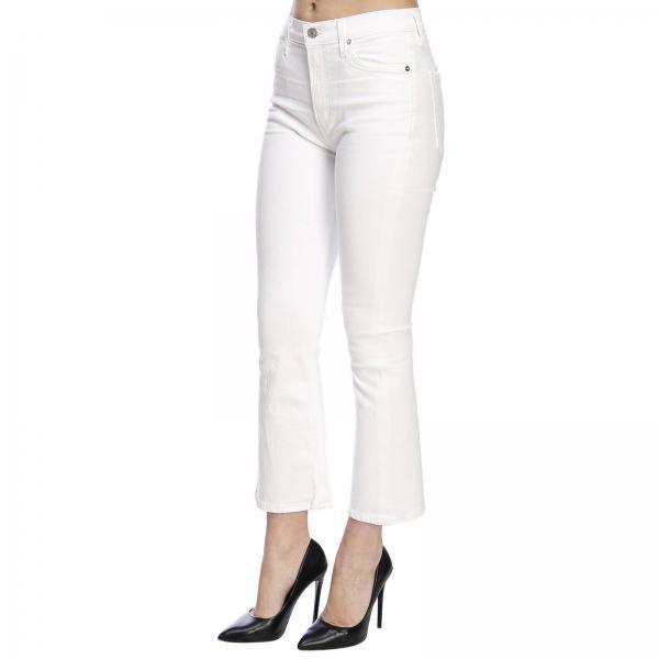 Primavera Blanco Mujer verano 2019 Unveilgiglio 17613001 Jeans Of Humanity Citizens g0wdOqv