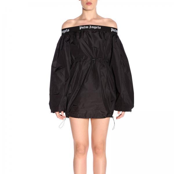2019 verano Mujer Angels Primavera Pwdb008r19309008giglio Negro Vestido Palm wnR0Hx1qwz