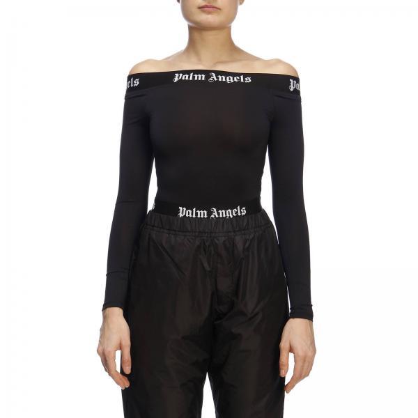 Negro verano Angels Palm Pwdd006r19353008giglio Top Mujer 2019 Primavera qxTwHgFt